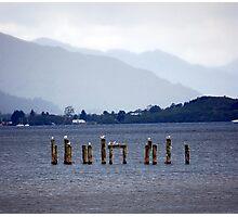 Blue Loch Photographic Print