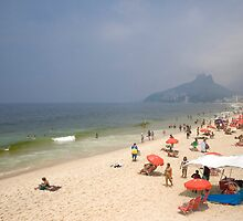Ipanema Beach by Freelancer