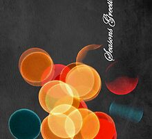 Christmas lights - iPhone case by Gregoria  Gregoriou Crowe