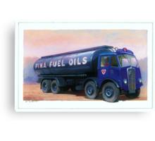 AEC Mammoth Major Fina Fuels Canvas Print