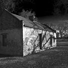 Slave Quarters - Melrose Plantation  by Mike Capone