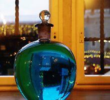 Blue bottle ball by Bluesrose