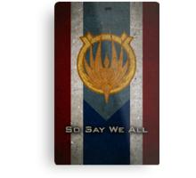 The Flag of Caprica Metal Print
