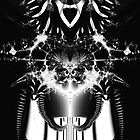 Transformer? Black and White Fractal. by Billlee