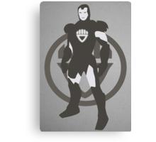 Black Lantern IronMan Canvas Print