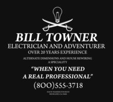 Bill Towner, Electrician and Adventurer by MrDeath