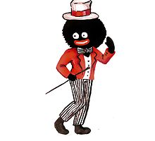 GolliWog with Hat by Tristan Klein