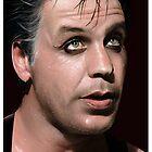 Till Lindemann (RAMMSTEIN) by Sheridan Johns