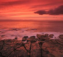 Firey Sunrise by Ian Berry