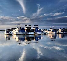Blue Afternoon - Swansea NSW Australia by Bev Woodman