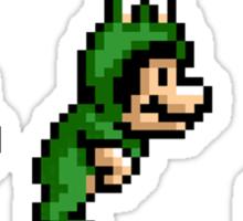 Frogsuit Mario - Hop Jump Go! Sticker