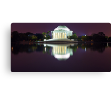 Jefferson Memorial 1 Canvas Print