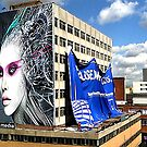 Sony Media Building Mural by Philip Gresham