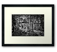 Simply Gorgeous ... Cemetery. Framed Print