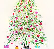 Christmas tree 2011 by Regina Valluzzi