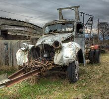 Faded Cherry Picker by Dale Lockwood