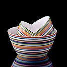 Stack of bowls by Gert Lavsen
