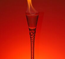 Flaming Hot Drink by Gert Lavsen