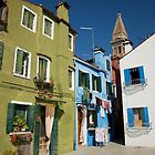 Burano Italy by Louise Fahy