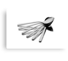 Spoon Fan Canvas Print