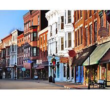 Main Street ~ Galena, Illinois Photographic Print