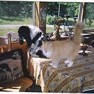 Delila and Reginald by maggiepoohbear