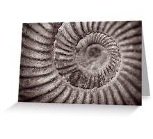 Archimedean spiral Greeting Card