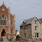 Church in Watchet by kalaryder