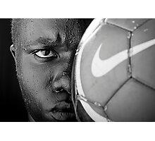 Tough Like An Old Nike Ball Photographic Print