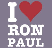 I LOVE RON PAUL by C40-LIBERTY