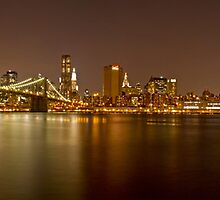 Manhattan at Night Panorama 5 by BlackRussian