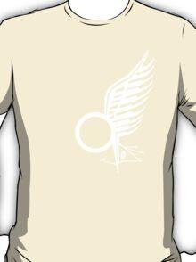 Viper Pilot Wing - Caprica in WHITE T-Shirt