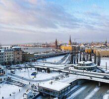 Slussen Winter Wonderland by timboss81
