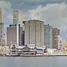 Downtown Manhattan Panorama 3 by BlackRussian