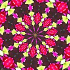 Flower Kaleidoscope by Margaret Stevens