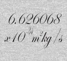 Plancks constant by stuwdamdorp