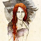 Sansa Stark by elia, illustration