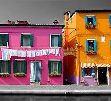 Burano, Venice Italy - 6 by Paul Williams