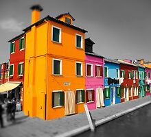 Burano, Venice Italy - 8 by Paul Williams