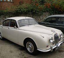 Jaguar Mk.2 Saloon. by Edward Denyer