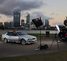 Behind the Scenes M5 BMW 540 shoot by Nigel Donald