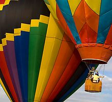 Hot Air Balloon Traffic by Ray Chiarello