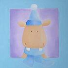 Christmas Hippo by Koekelijn