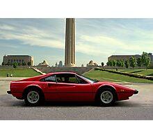 1979 Ferrari 308 GTB - Kansas City Liberty Memorial Photographic Print