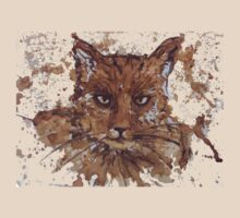 Caffeine Kitty T-shirt by Dianne  Ilka