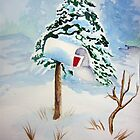 Christmas Mail by Debbie  Adams