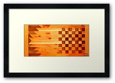 Indian Turkey Chess Table Landscape by Thomas Murphy