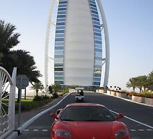 Ferrari in Dubai by celebassistant