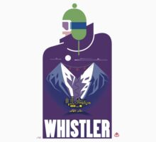 """Full Moon"" Whistler Village Shirt T-Shirt"