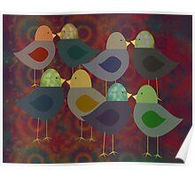 Chatter Birds Poster